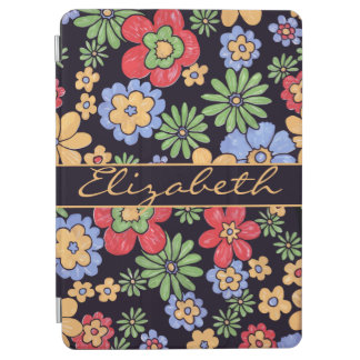 Custom Vivid Colorful Flowers to Personalize iPad Air Cover