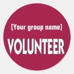 Custom Volunteer Badge