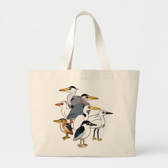 Custom Waders Large Tote Bag