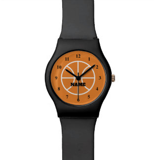 Custom watch gift for basketball player or coach