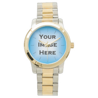 Custom Watch With Transparent Ticks Drop Shadow 2