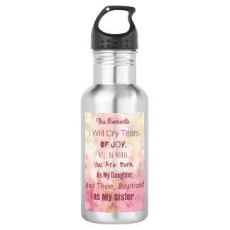 Custom Water Bottle (18 oz), Stainless Steel 532 Ml Water Bottle
