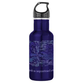 Custom Wave 532 Ml Water Bottle