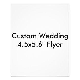 "Custom Wedding 4.5x5.6"" Flyer"