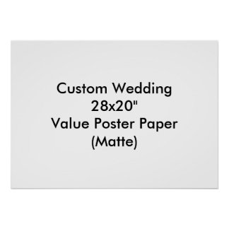 Custom Wedding Bachelor Party Poster