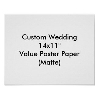 Custom Wedding Bachelorette Party Poster
