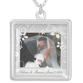 Custom Wedding / Bride's Keepsake Necklace