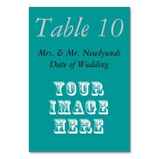 Custom Wedding Favor Table Cards