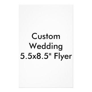 Custom Wedding Flyers