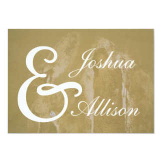 Custom Wedding Invitation Announcement