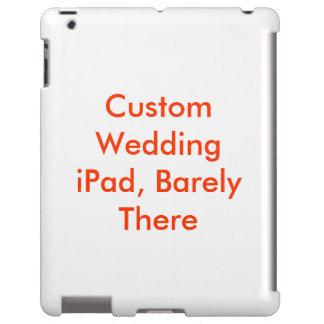Custom Wedding iPad Slim Hard Case Template Blank iPad Case