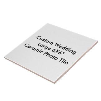 Custom Wedding Large 6X6 Ceramic Photo Tile Tiles