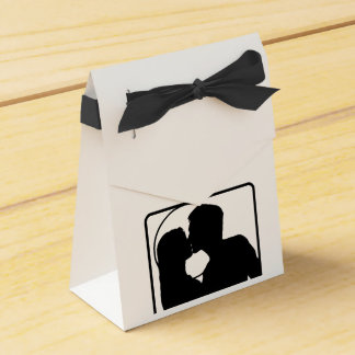 Custom Wedding Party Favor gift bags Favour Boxes