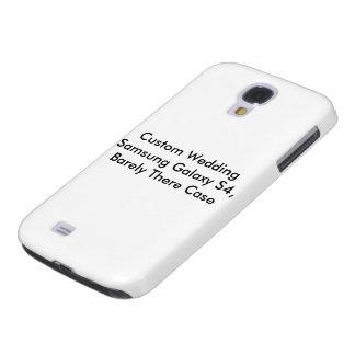 Custom Wedding Samsung Galaxy S4 Barely There Case Galaxy S4 Case