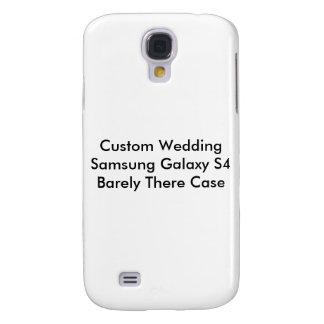 Custom Wedding Samsung Galaxy S4 Barely There Case Samsung Galaxy S4 Cases