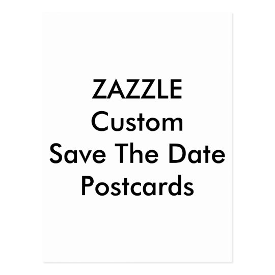 Custom Wedding Save The Date Invitation Postcards