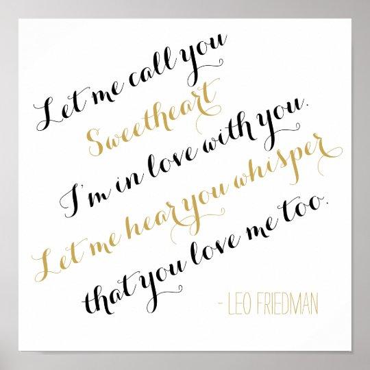 Custom wedding song gold lyrics add your own