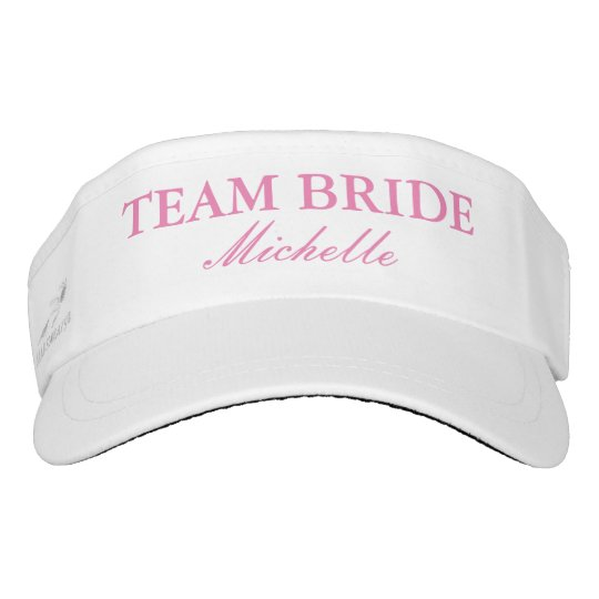 Custom wedding sun visor cap hats for team