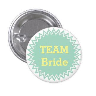 Custom Wedding Team Bride Buttons