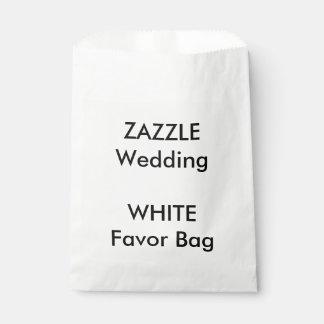 Custom Wedding WHITE Paper Favor Bag Favour Bags
