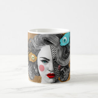 Custom White 11 oz Classic Mug/Pisces-Zodiac Coffee Mug