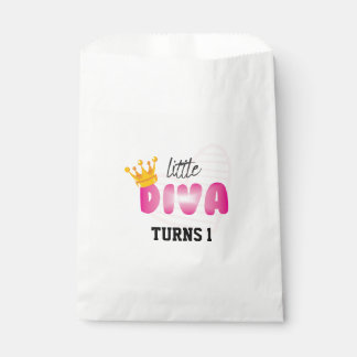 Custom White Favor Bag