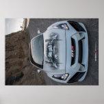 Custom Widebody R35 Nissan GT-R on PCH Poster