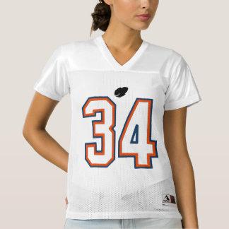 Custom Women's 34 Football Jersey