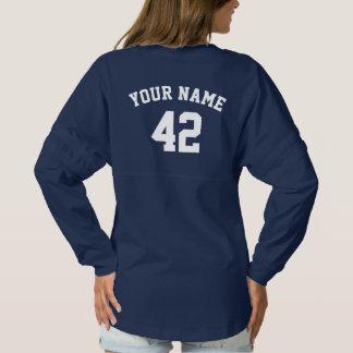 Custom Women's Sports Jersey Navy Blue Shirt