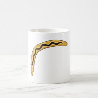 Custom Wooden Australia Aboriginal Boomerang Mugs