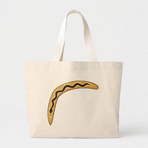 Custom Wooden Australia Aboriginal Boomerang Mugs Canvas Bag