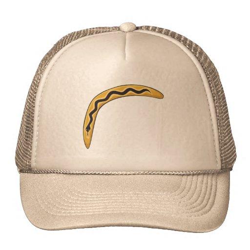Custom Wooden Australia Aboriginal Boomerang Mugs Mesh Hat