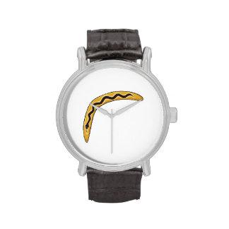 Custom Wooden Australia Aboriginal Boomerang Mugs Wristwatch