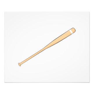 Custom Wooden Baseball Softball Bat Invitations Photo