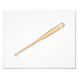 Custom Wooden Baseball Softball Bat Invitations Photographic Print