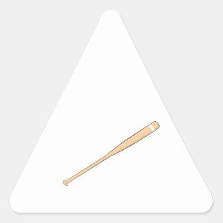 Custom Wooden Baseball Softball Bat Mug Button Bag Triangle Sticker