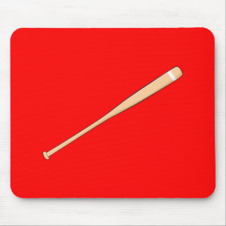 Custom Wooden Baseball Softball Bat Playing Cards Mousepad