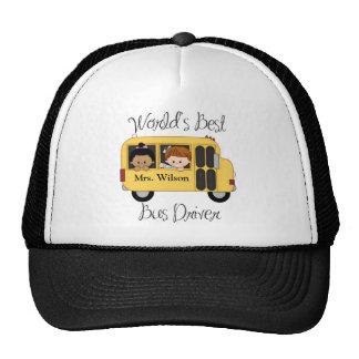 Custom Worlds Best School Bus Driver Cap