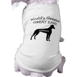 Custom Worlds Greatest Great Dane Shirt