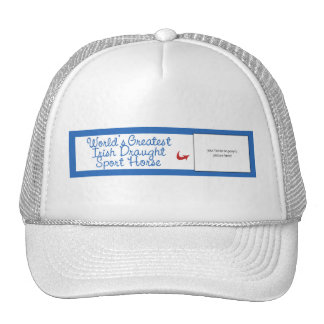 Custom Worlds Greatest Irish Draught Sport Horse Trucker Hat