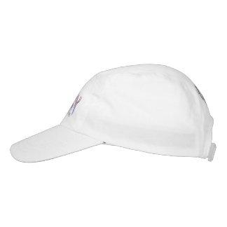 Custom Woven Performance Hat, White Hat
