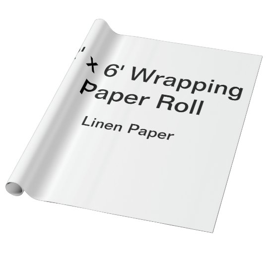 Linen Wrapping Paper, 30 in x 6 ft