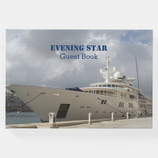 Custom Yacht Photo Guest Book