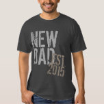 Custom Year New Dad Grunge Father's Day T Shirts