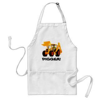 Custom Yellow Digger Standard Apron