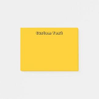 Custom Yellow/Orange Post-it Notes