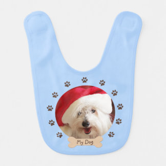 Custom Your Dog Baby Bib for Boys