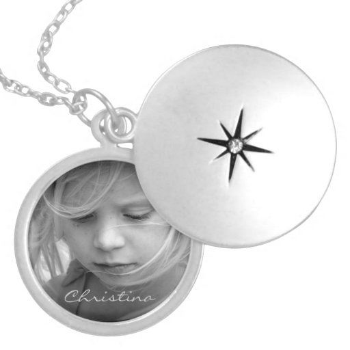Custom your photo personalized girls name, gift lockets