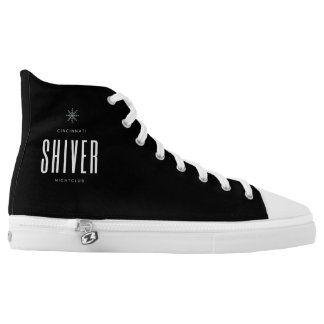 Custom Zips High Top Shiver Shoes