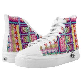 Custom Zipz High Top Shoes,